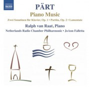 Ralph van Raat: Pärt: Piano Music - CD