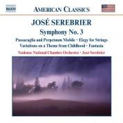 Serebrier: Symphony No. 3 /  Elegy for Strings / Fantasia - CD