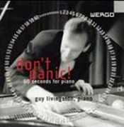 Guy Livingston: Don't Panic! 60 Seconds for Piano - CD
