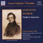 Yehudi Menuhin: Dvorak / Schumann: Violin Concertos (Menuhin) (1936, 1938) - CD