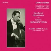 Daniil Shafran: Shostakovich, Schubert: Cello Sonata, Arpeggione Sonata - Plak