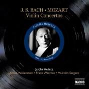 Jascha Heifetz: Bach, J.S.: Violin Concertos / Mozart: Violin Concerto No. 5 (Heifetz) (1946-53) - CD