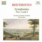 Bela Drahos, Nicolaus Esterhazy Sinfonia: Beethoven: Symphonies Nos. 2 and 5 - CD