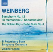 Vladimir Lande, St. Petersburg State Symphony Orchestra: Weinberg: Symphony No. 12 - The Golden Key Suite No. 4 - CD