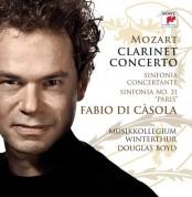 Fabio Di Casola, Douglas Boyd, Orchester Musikkollegium Winterthur: Mozart: Clarinet Concerto-Sinfonia C Oncertante K297b/Symphony No.31 (