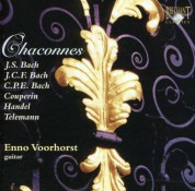 Enno Voorhorst: Chaconnes for Guitar - CD