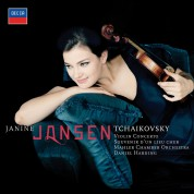 Daniel Harding, Janine Jansen, Mahler Chamber Orchestra: Tchaikovsky: Violin Concerto - CD