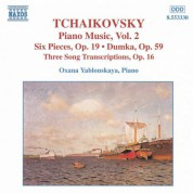 Tchaikovsky: Piano Music, Vol.  2 - CD