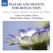 St John's Choir Elora: Psalms & Motets for Reflection - CD