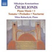 Mūza Rubackytė: Ciurlionis: Piano Music, Vol. 1 - CD
