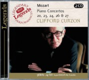 Benjamin Britten, Sir Clifford Curzon, English Chamber Orchestra, István Kertész, London Symphony Orchestra: Mozart: Piano Concertos - CD