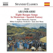 Arambarri: 8 Basque Songs / In Memoriam / Spanish Fantasy - CD
