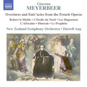 Darrell Ang, New Zealand Symphony Orchestra: Meyerbeer: Overtures & Entr'actes from the French Operas - CD