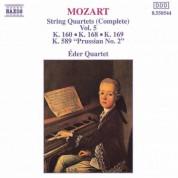 Mozart: String Quartets,  K. 168-169 and K. 589, 'Prussian No. 2' - CD