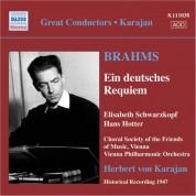 Herbert von Karajan: Brahms, J.: Deutsches Requiem (Ein) (Schwarzkopf, Hotter, Karajan) (1947) - CD