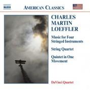 Loeffler: Music for Stringed Instruments / String Quartet - CD