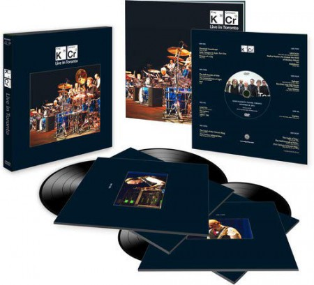 King Crimson: Live in Toronto - Plak