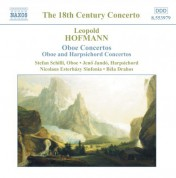 Bela Drahos: Hofmann, L.: Oboe Concertos / Concertos for Oboe and Harpsichord - CD