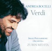 Coro del Maggio Musicale Fiorentino, Israel Philharmonic Orchestra, Zubin Mehta: Andrea Bocelli - Verdi Famous Arias - CD