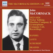 John McCormack: The McCormack Edition, Vol. 10: Victor Talking Machine Company - Gramophone Company Ltd. - CD