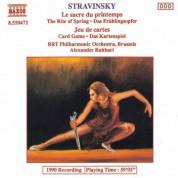 Stravinsky: Sacre Du Printemps (Le) / Jeu De Cartes - CD