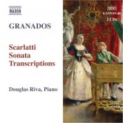 Douglas Riva: Granados, E.: Piano Music, Vol.  9 - Transcription of 26 Sonatas by D. Scarlatti - CD
