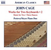 Pascal Meyer, Xenia Pestova: Cage: Works for 2 Keyboards, Vol. 2 - CD