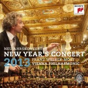 Franz Welser-Möst, Wiener Philharmoniker: 2013 New Year's Concert - CD
