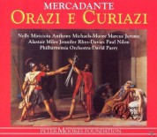 Alastair Miles, Anthony Michaels-Moore, Nelly Miricioiu, Philharmonia Orchestra, David Parry: Mercadante: Orazi e Curiazi - CD