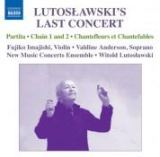 Witold Lutosławski: Lutoslawski's Last Concert - CD