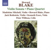 Madeleine Mitchell: Blake, H.: Violin Sonata / Piano Quartet / Penillion / Jazz Dances - CD