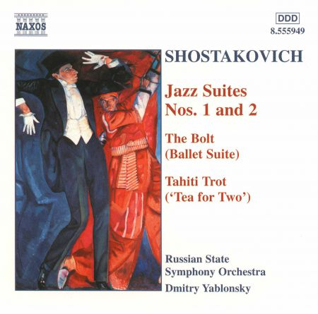 Russian State Symphony Orchestra, Dmitry Yablonsky: Shostakovich: Jazz Suites Nos. 1 and 2 - CD