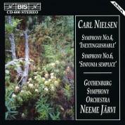 Gothenburg Symphony Orchestra, Neeme Järvi: Carl Nielsen: Symphonies 4 & 6 - CD