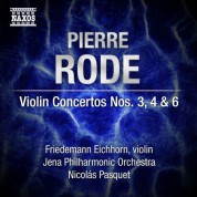 Friedemann Eichhorn: Rode: Violin Concertos Nos. 3, 4 & 6 - CD
