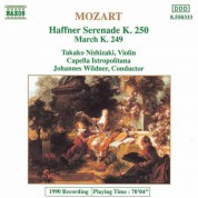 Mozart: Haffner Serenade, K. 250 / March, K. 249 - CD