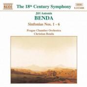Benda, J. A.: Sinfonias Nos. 1-6 - CD