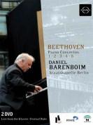 Staatskapelle Berlin, Daniel Barenboim: Beethoven: Piano Concertos Nos. 1-5 - DVD