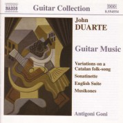 Duarte: Guitar Music - CD