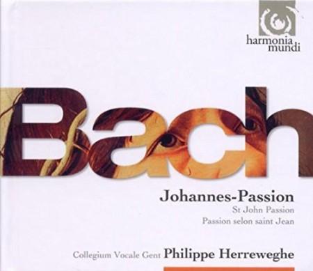 Collegium Vocale Gent, Philippe Herreweghe: J.S. Bach: Johannes-Passion - CD