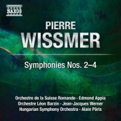 Edmond Appia, Hungarian Symphony Orchestra, Leon Barzin Orchestra, Alain Paris, Swiss Romande Orchestra, Jean-Jacques Werner: Wissmer: Symphonies Nos. 2-4 - CD