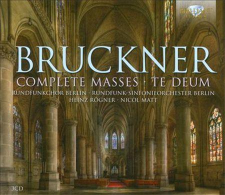 Chamber Choir of Europe, Württemberg Philharmonic Reutlingen, Nicol Matt: Bruckner: Complete Masses - Te Deum - CD