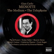 Emanuel Balaban: Menotti: The Medium - The Telephone - CD