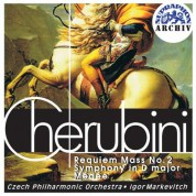 Czech Philharmonic Orchestra, Igor Markevitch: Cherubini, Requiem - CD