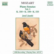 Jeno Jando: Mozart: Piano Sonatas, Vol. 1 (Piano Sonatas Nos. 8, 10 and 15) - CD