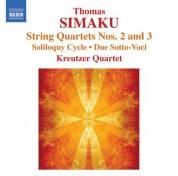 Kreutzer Quartet: Simaku: String Quartets Nos. 2 and 3 / Soliloquy I-Iii - CD