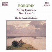Borodin: String Quartets Nos. 1 and 2 - CD