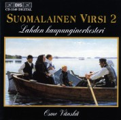 Lahti Symphony Orchestra, Osmo Vänskä: Finnish Hymns 2 for orchestra - CD