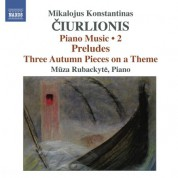 Mūza Rubackytė: Ciurlionis: Piano Music, Vol. 2 - CD