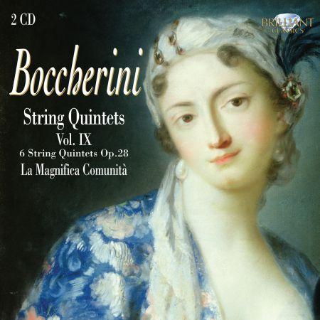 La Magnifica Comunità: Boccherini: String Quintets, Vol. IX - CD