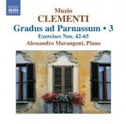 Alessandro Marangoni: Clementi: Gradus ad Parnassum, Vol. 3 (Nos. 42-65) - CD